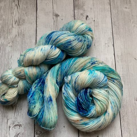 SOCK WEIGHT - SAND AND SEA™ Kettle Dyed Speckled - 400 yds SINGLE RTS (021820)