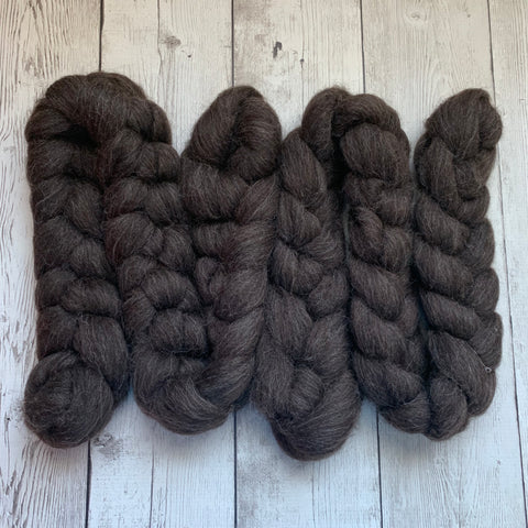 Zwartbles Wool Top - 4 ounces