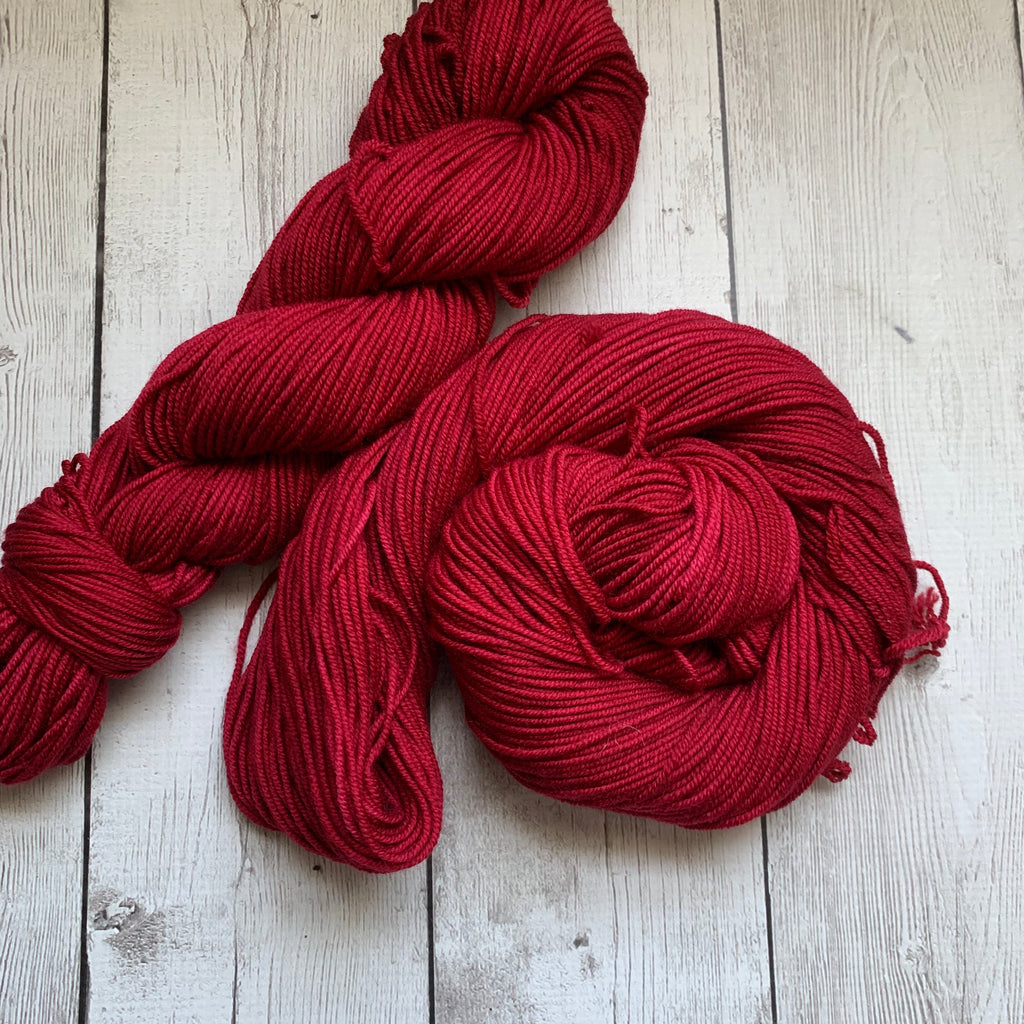 WORSTED - Doctor Who goes to Westeros™ (RED WEDDING) Semi-Solid 218 3.5 oz RTS (816)