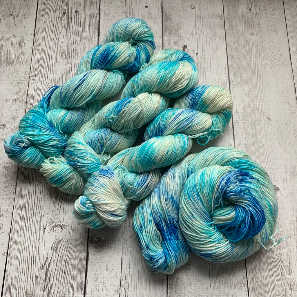SOCK WEIGHT - SAND and SEA™ Speckled Kettle Dyed - 463 yds RTS (020420)