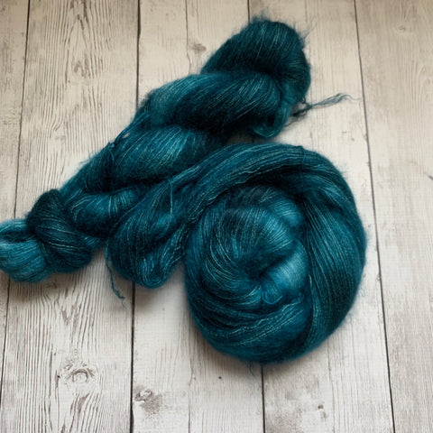 Lace - PLAYLIST COLLECTION™ - EVERGREEN - Mohair/Silk 459 yds RTS (721)