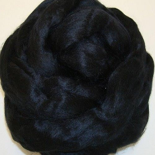 Bamboo Top - 1 oz or 4 oz - Black (dyed)