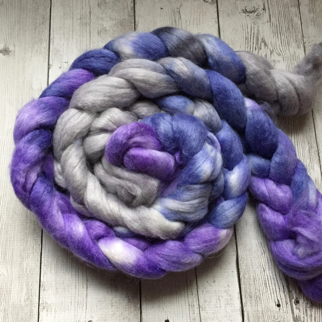 Frigg - Spinner of the Clouds™ Hand Paint - Alpaca/SIlk/Merino Top -  4.3 oz (1120)
