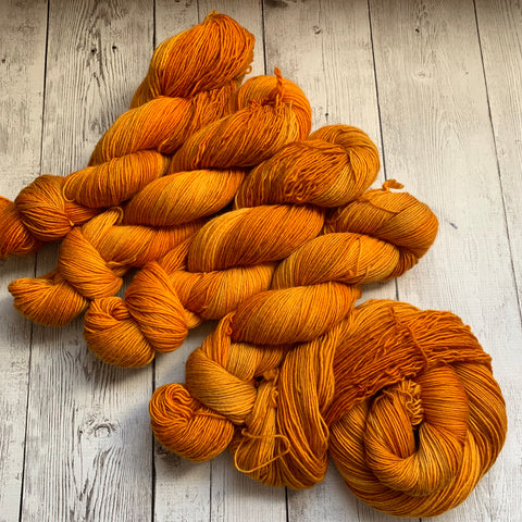 SOCK WEIGHT- The Gemstone Collection™ (CITRINE) - Semi-Solid 400 yds 3.5 oz RTS (716)