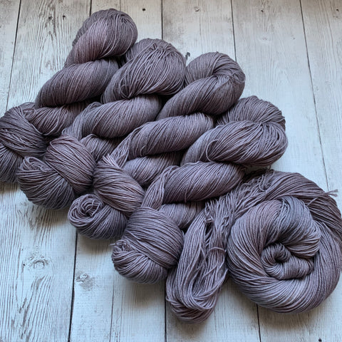 SOCK WEIGHT STEAMPUNK -  Semi-Solid Kettle Dyed 463 yds 3.5 oz or 20 gr minis RTS (1219)
