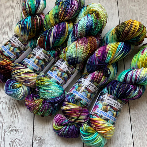 "2020 NJ WOOL WALK COLORWAY - ""HINDSIGHT""™ MULTIPLE BASES - RTS"