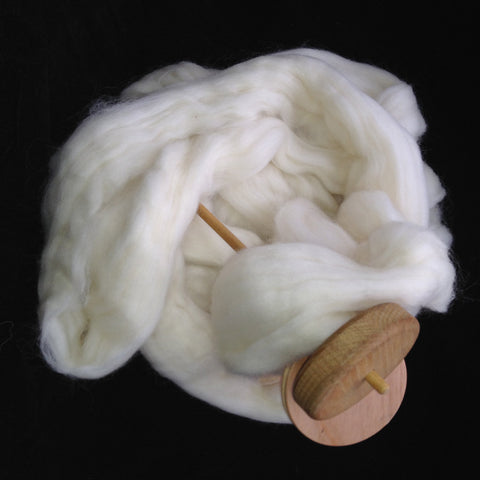 Corriedale Top - undyed ecru - 4, 8 or 16 ounces