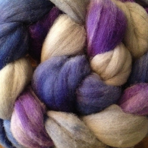 BFL Wool/Silk Frigg, Spinner of the Clouds - 4 ounces