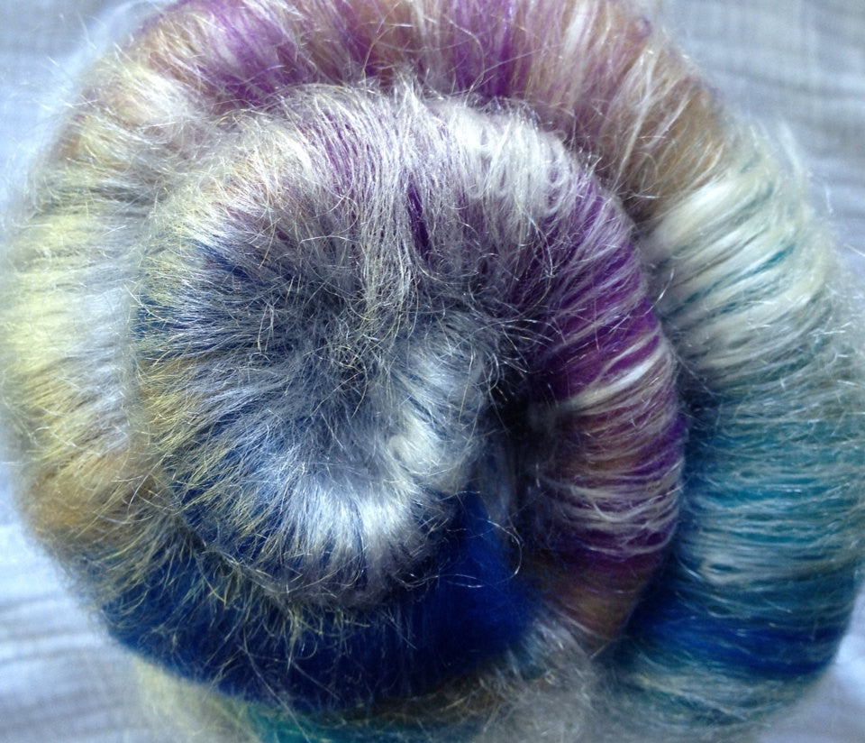 Baby Alpaca/Merino/Silk Luxury - Sand and Sea - 2 oz