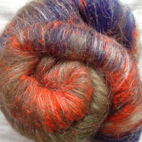 Alpaca/Merino/Silk (Text) - Madonna of the Rocks (RETIRED)- 2 oz or 8 gr