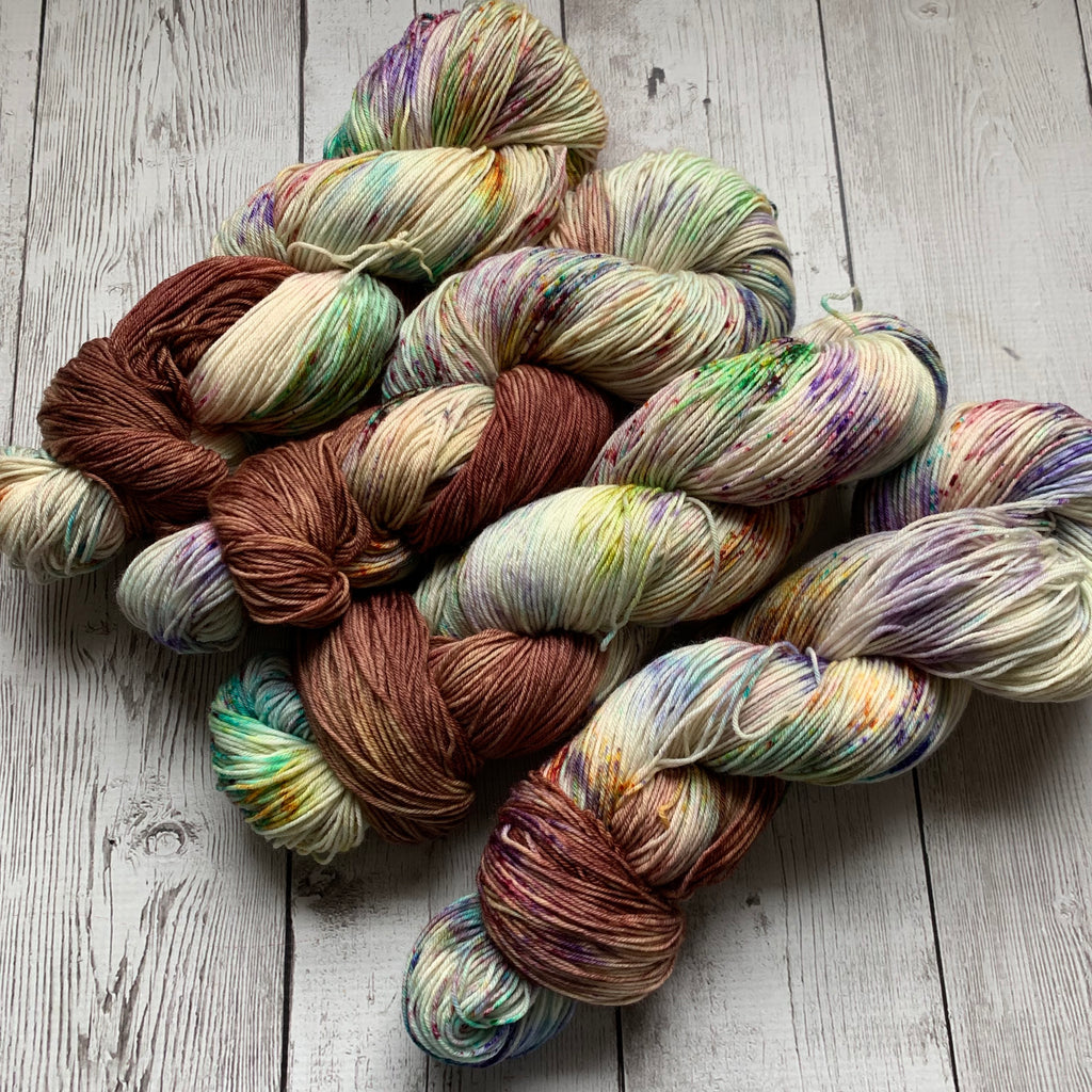 SOCK WEIGHT - Happy Birthday™ Speckled Hand Paint - 463 yds RTS (020420)