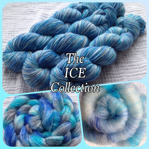 DK -  ICE™ -  Fing/Sock Hand Painted yarn 231 yds  RTS (012120)