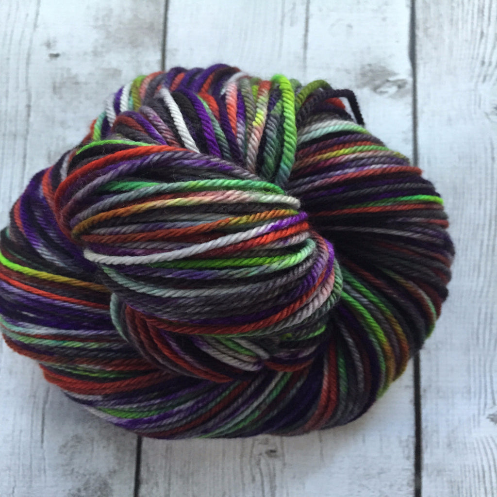 Pixie-stix™-  Worsted Hand Painted 218 yds  RTS (201510sk05)