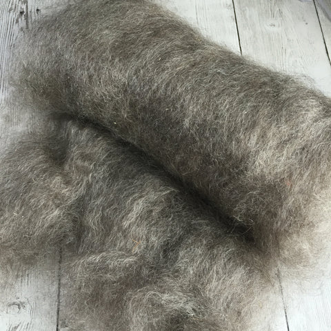 Mohair Yearling Grade - Grey -  - 2 oz