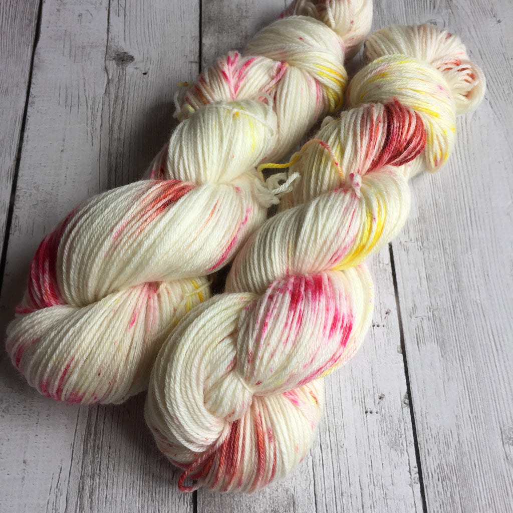 Pixie-Stix™-Fing/Sock Hand Painted - 430 yds Merino/Bamboo  RTS (201607001)