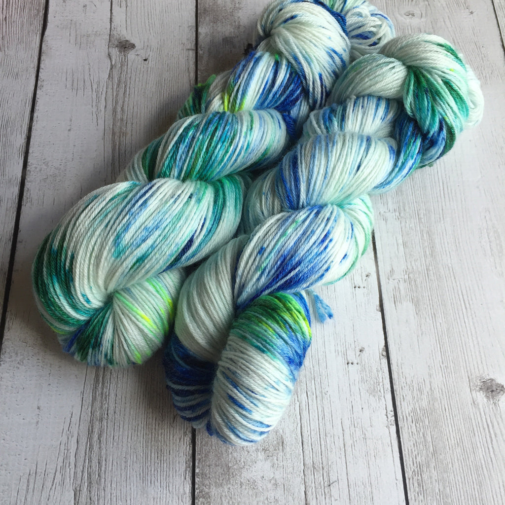 Pixie-Stix™-Fing/Sock Hand Painted - 430 yds Merino/Bamboo  RTS (201607003)