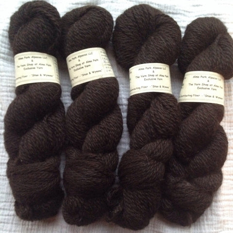 100% Superfine Alpaca Yarn - 2 ply Worsted - 150 yds