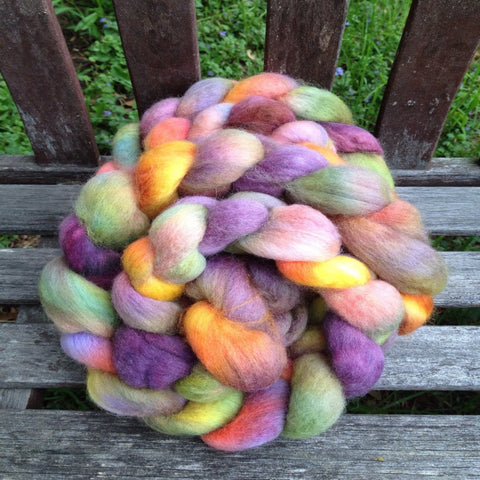 UNICORN DREAMS - hand paint top (choice of fiber) 4 oz or sample
