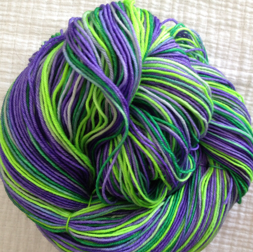 Lavender Fields™-  Fingering/Sock Hand Painted yarn 463 yds  RTS
