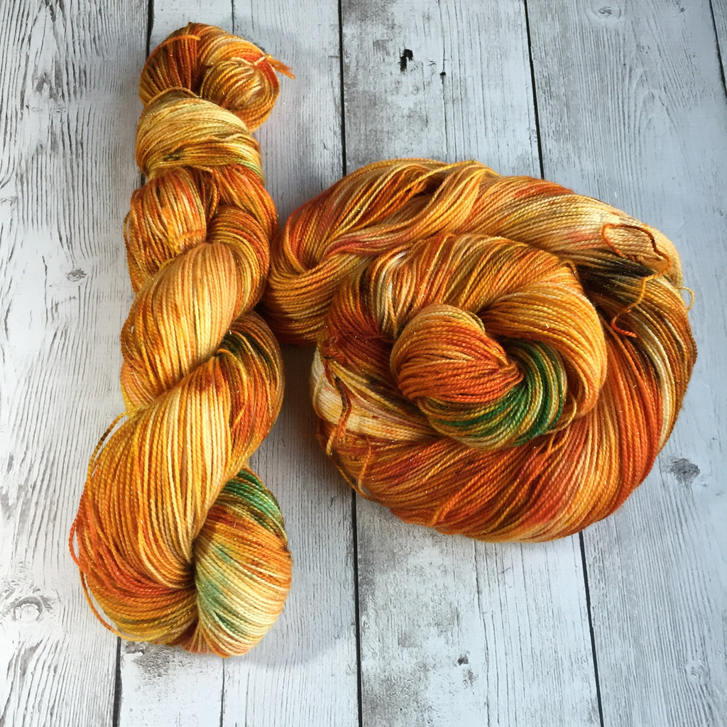 Pumpkin Patch™ Pixie-Stix™ Sparkle Sock- Fing/Sock Hand Painted 438 yds RTS