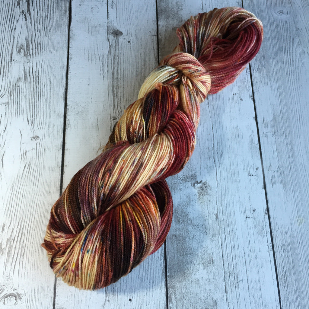 Mighty Oak™ Pixie-Stix™ Fing/Sock Hand Paint - 400 yds SW Merino