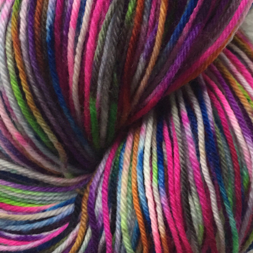 Pixie-Stix™-  Fing/Sock Hand Painted 463 yds  RTS (201509sk06)