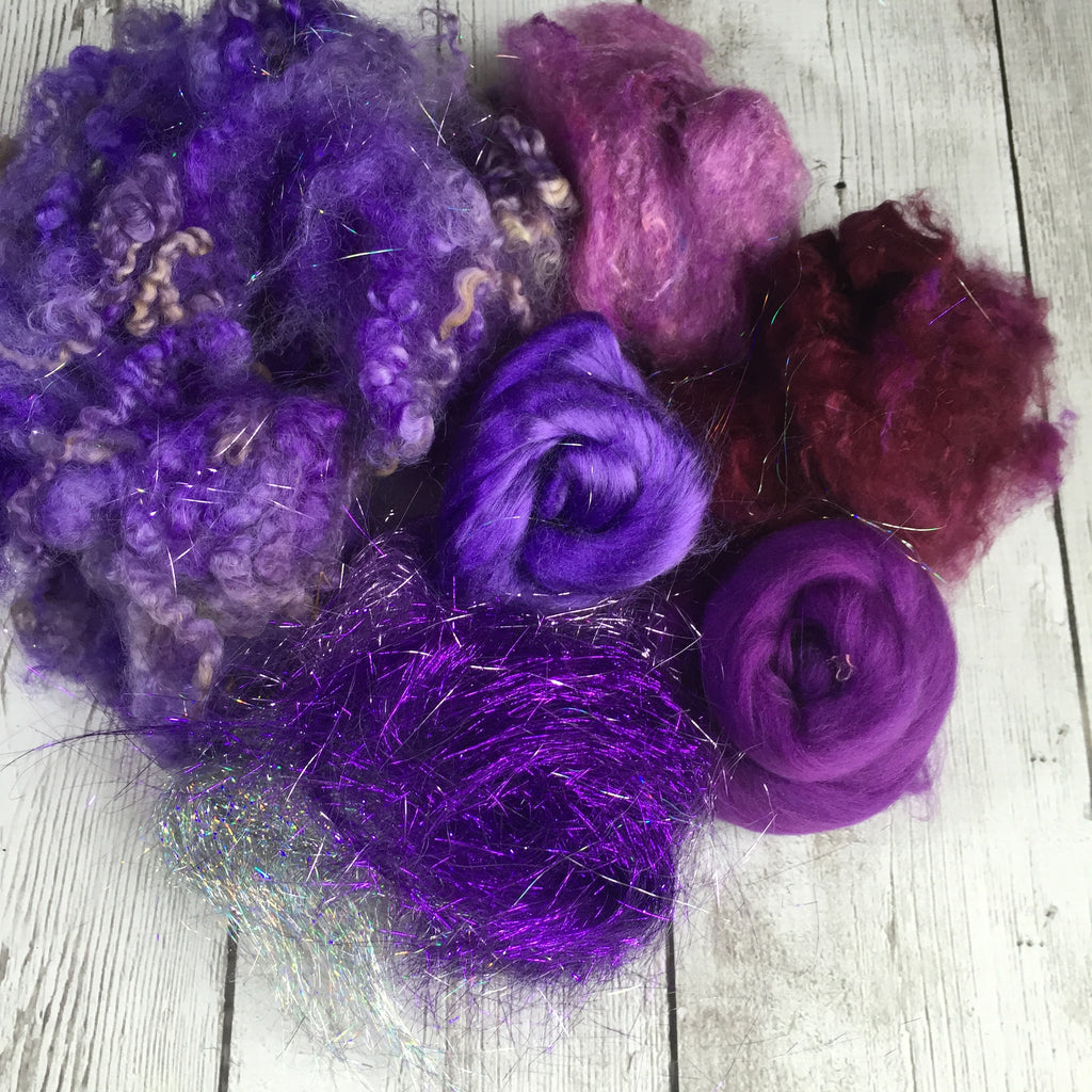 Party in a Bag - Purples - BL/Soffsilk/Sparkle/Bamboo - 2 oz