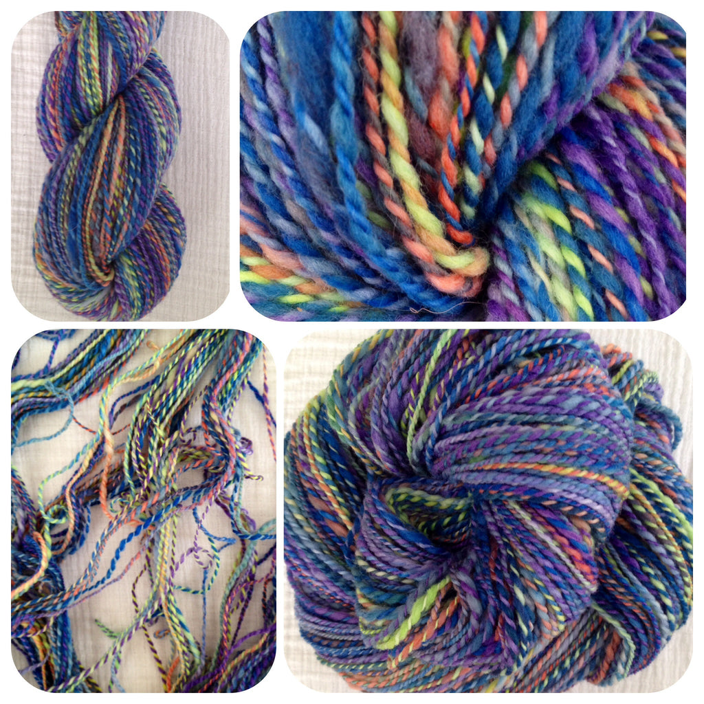Organically Grown Merino Hand Spun - 2 Ply 3.8 oz 285 yds