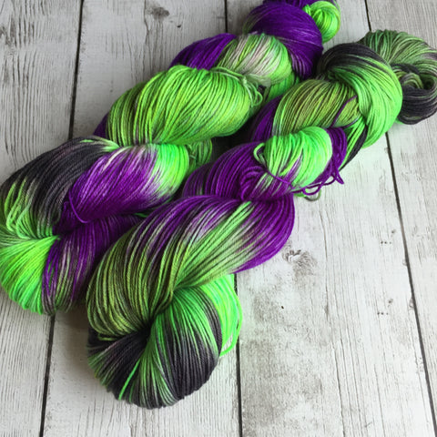Dorothy's Nemesis™-  Fing/Sock Hand Painted 463 yds  RTS (828)