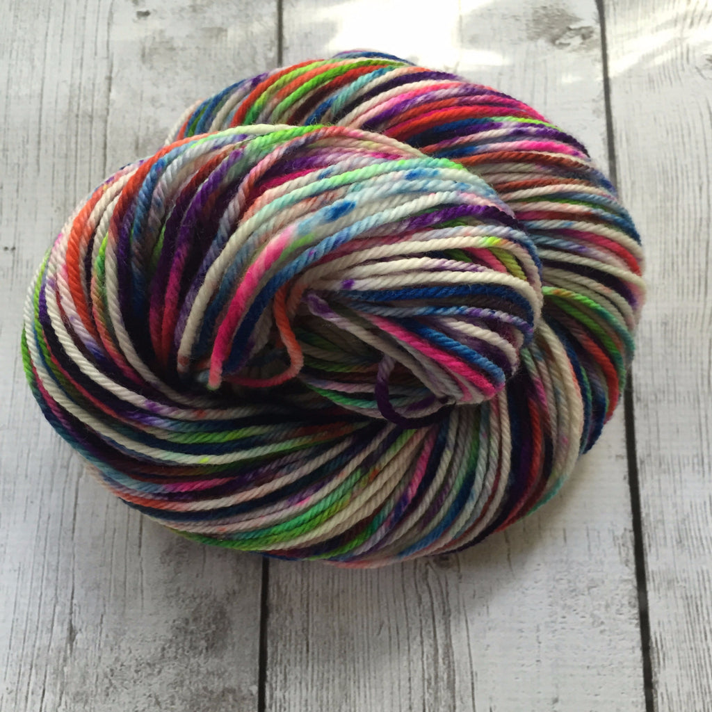 Pixie-Stix™-  Worsted Hand Painted 218 yds  RTS (201510sk03)