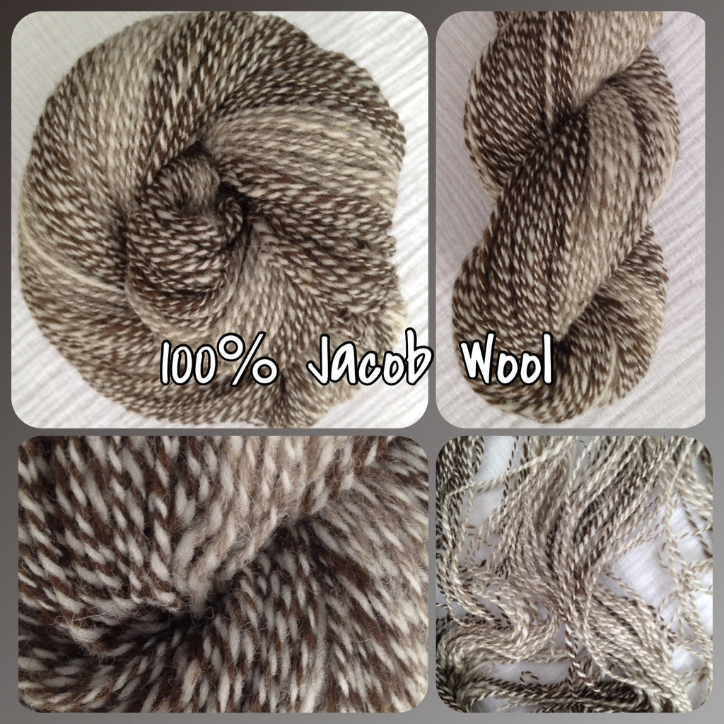 DK - Jacob Wool Hand Spun (Self Striping)- 2 Ply 3.9 oz 325 yds (HS0207)