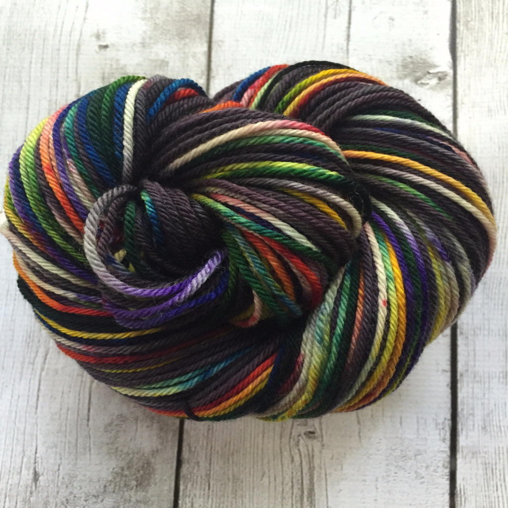 Pixie-Stix ™-  Worsted Hand Painted 218 yds  RTS (201510sk04)
