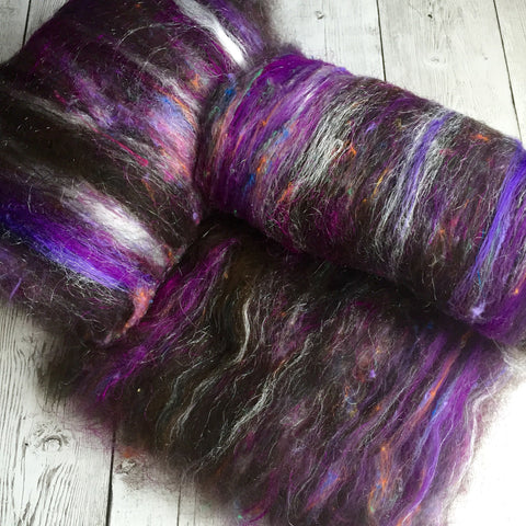 Alpaca Merino Bamboo Several Silks Sparkle -(text) - 2 oz
