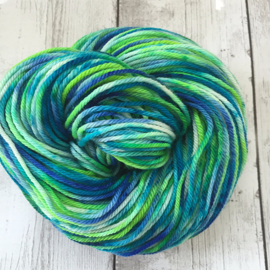 Pixie-Stix™-  Worsted Hand Painted 218 yds  RTS (201510sk01)