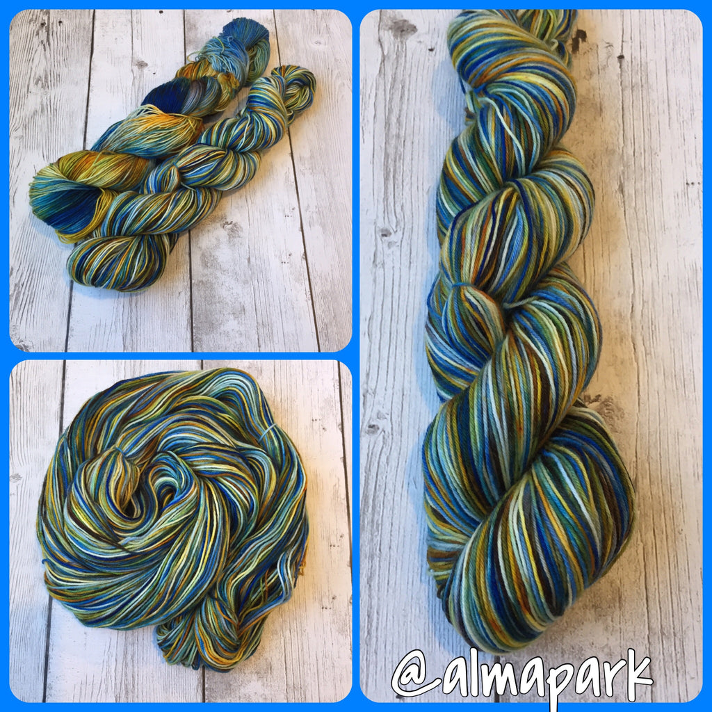 Pixie-Stix™-Autumn Cove™ Fing/ Sock Hand Painted 463 yds  RTS