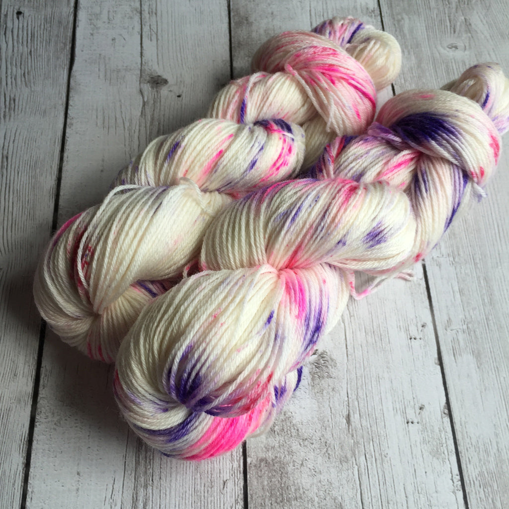 Pixie-Stix™-Fing/Sock Hand Painted - 430 yds Merino/Bamboo  RTS (201607002)