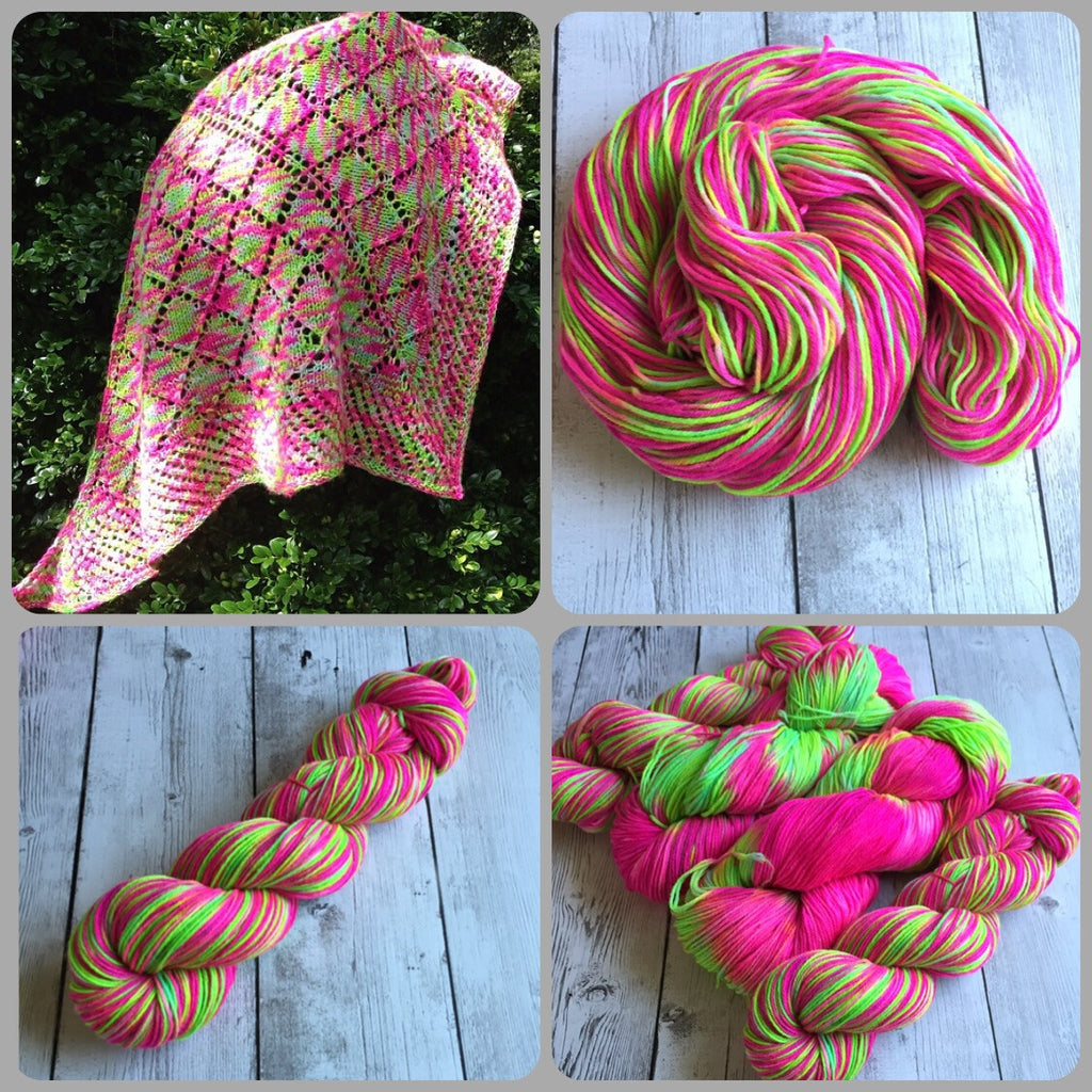 Psychedlic Powers™ Fingering/ Sock weight - MCN 435 yds 3.5 oz