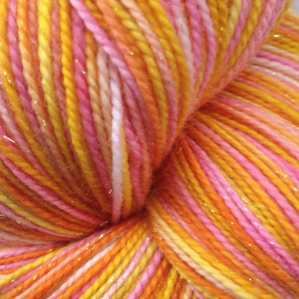 Elephant Hawk Moth™-  Fing/Sock Hand Painted 438 yds  RTS
