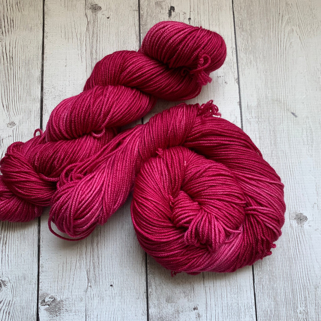 WORSTED - RASPBERRY™ -  Semi-Solid Kettle Dyed - 218 yds 3.5 oz RTS (819)