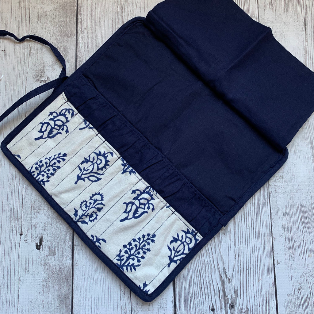 Knitters Pride Double Point Case - Navy