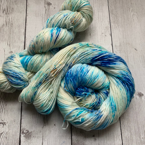 SOCK WEIGHT - SAND and SEA™  ALPACASpeckled Kettle Dyed - 435 yds RTS (020420)