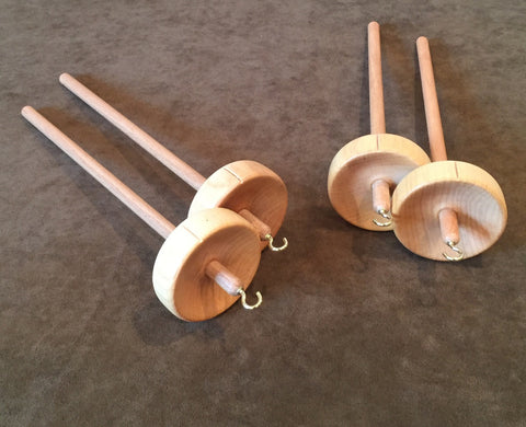 Beginner LEVEL 1 Spinning Class (2019 Summer Schedule) Top Whorl Spindle