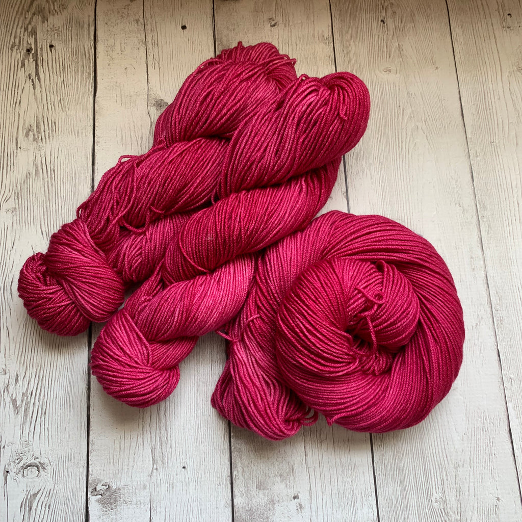 RASPBERRY™ -  Semi-Solid Kettle Dyed DK - 274 yds 3.5 oz RTS (715)