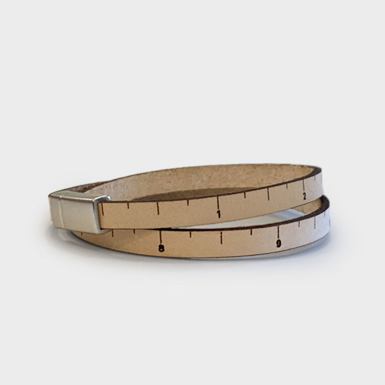 Leather Thin Line Wrist Ruler