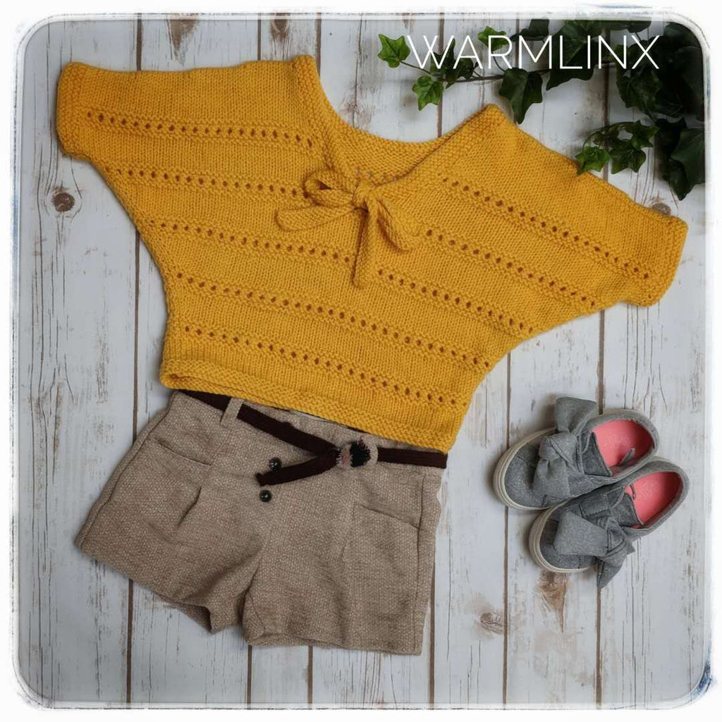 YI Pullover Knitting Pattern