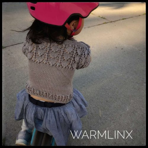 Mian Cold Shoulder Top Knitting Pattern
