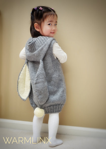 Elise Hooded Vest Knitting Pattern