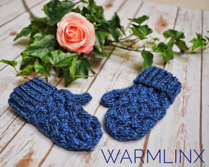 Harper Mitts Knitting Pattern