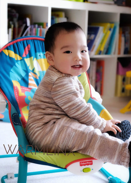 Jayden Baby Jumpsuit Knitting Pattern