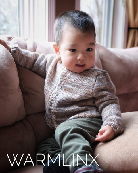 Jayden Baby Cardigan Knitting Pattern